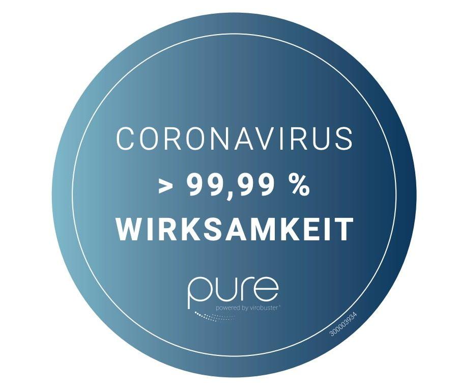Sticker coronasiegel