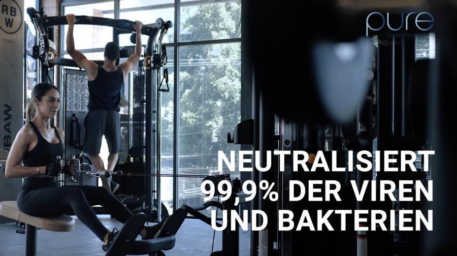 Video PureAir_Virobuster_Fitness_Promo_DE